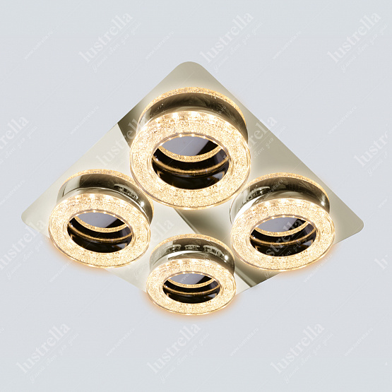 ANELLO 36W 3000K chrome-crystal